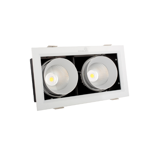 Đèn LED Spot Light Âm Trần 20W Kingled GL-2*10-V227